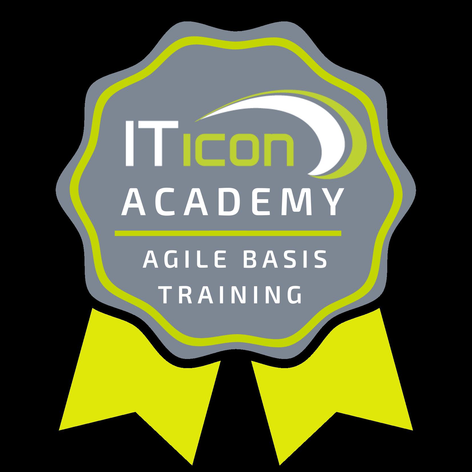 badge behalen training ITicon Academy Agile Basis training